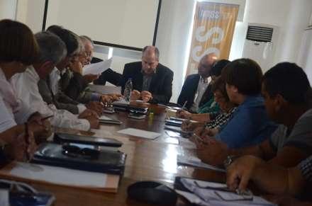 Primera reunión del Consejo Nacional de Seguridad y Salud en el Trabajo