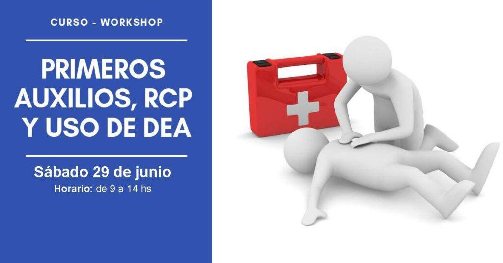 Workshop de Primeros Auxilios, RCP y uso de DEA